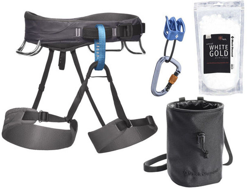 Klettergurt Black Diamond Momentum : Black diamond momentum package men slate campz